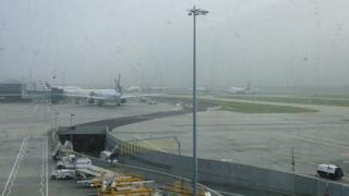 The fog at Heathrow