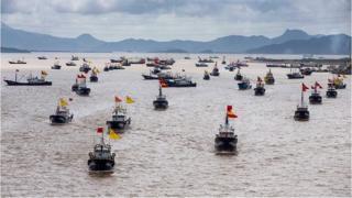 चीन की 'नौका वाली सेना' को लेकर इतना हंगामा क्यों मचा है