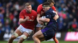 Scotland and Wales in the Six Nations