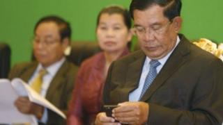 Umushikiranganji wa mbere wa Cambodge Hun Sen