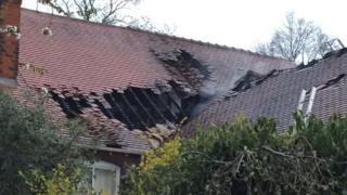 Lightning strike Sutton Coldfield