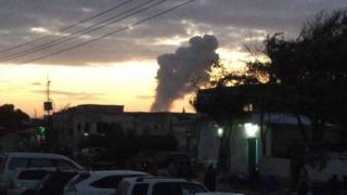 Explosion in Mogadishu