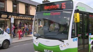 TrawsCymru bus