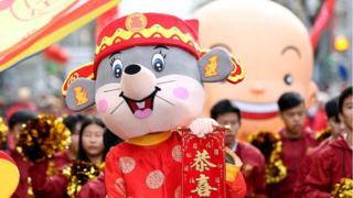 里斯本庆祝中国新年,2020年1月18日