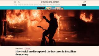 Reprodução da matéria do Financial Times