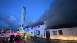 Stork Inn fire