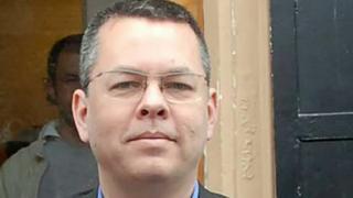 US pastor Andrew Brunson