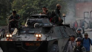 TNI di Papua
