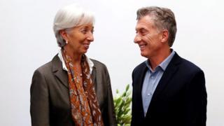 Macri y Lagarde