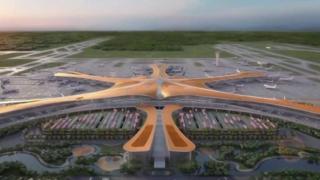 الصين تبني أكبر مطار في العالم بمساحة مليون متر مربع