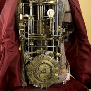 Clockwork automata made by Swiss watchmaker Henri-Louis Jaquet-Droz.