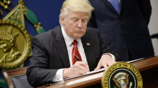 Donald Trump has banned Syrian refugees from entering America
