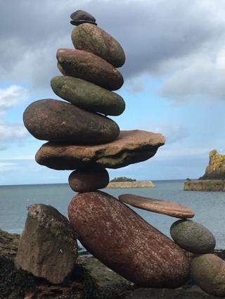 stones in Dunbar