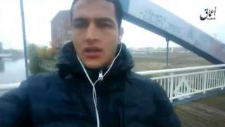 image grab taken from a propaganda video showing Anis Amri