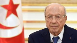 Shugaban kasar Mohamed Beji Caid Essebsi