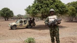 Rundunar sojan Najeriya dai ta musanta cewa garin yana hannun 'yan Boko Haram din
