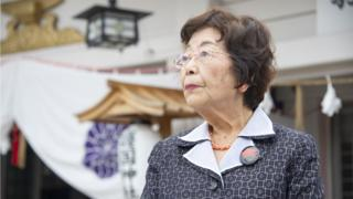 นาเอโกะ เทรุยะ วัย 83 ปี