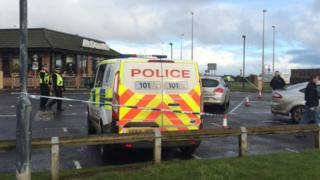 Police at McDonalds