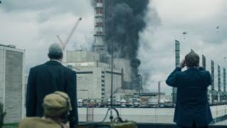 сцена из серије Чернобиљ