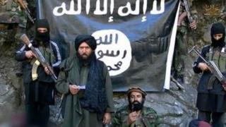 Кадр из пропагандистского видеоролика афганских джихадистов