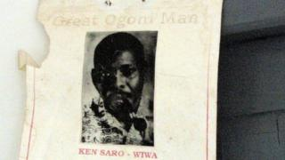 Poster for Ken Saro Wiwa
