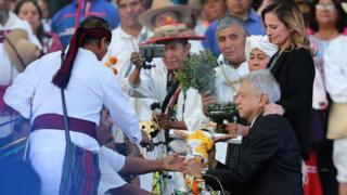 Ceremonia de investidura de Andrés Manuel López Obrador