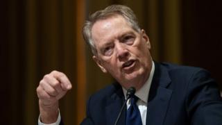 United States Trade Representative Robert Lighthizer