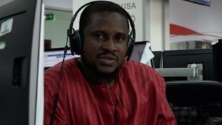 Awọn oṣiṣẹ BBC News Yoruba