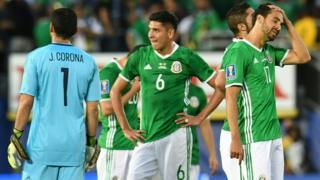 México al final del partido