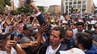 Protest podrške Guaidu