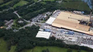 Rockwool employs about 400 people at its site in Bridgend county