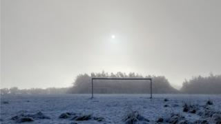 Winter Sun – Cumbernauld Community Park'