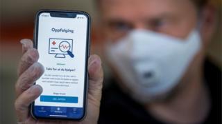 Norway contact-tracing app