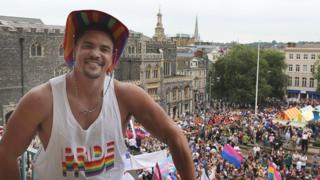 Anthony Ogogo at Norwich Pride