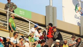 Torcedor foi retirado à força por agentes da Força Nacional no sábado