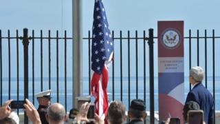 Открытие посольства США в Гаване