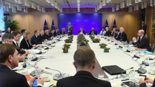 Avrupa Birliği liderleri