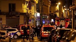 테러가 발생한 프랑스 파리 오페라 지구