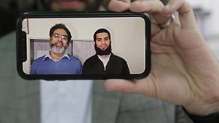 Naim Raşid ve oğlu Talha Raşid
