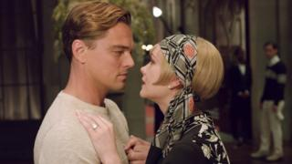 Scene from the film The Great Gatsby
