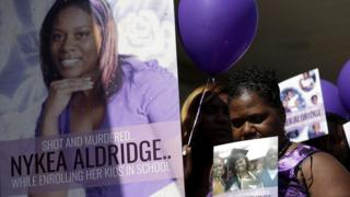 vigil for nykea aldridge
