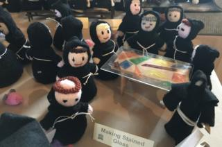 Knitted monks