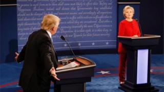 Первые теледебаты, Трам и Клинтон