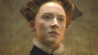 Actress Saoirse Ronan stars in a new historical drama, Mary Queen of Scots, in the title role