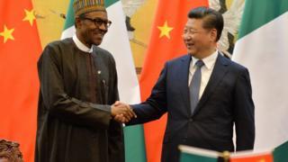 Buhari ba Aarẹ China, Xi Jinping yọ