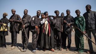 Des villageois organisés pour combattre Boko Haram au Nigeria (illustration)