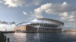 New Everton stadium to 'rise from Bramley Moore Dock'