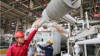 Técnicos da estatal chinesa CNPC