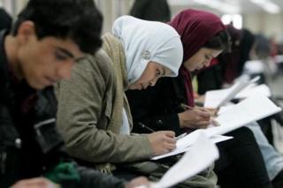 دانشجویان افغان