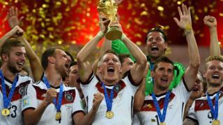 Alemania celebra su título mundial en 2014